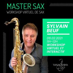 MASTER SAX avec Sylvain BEUF
